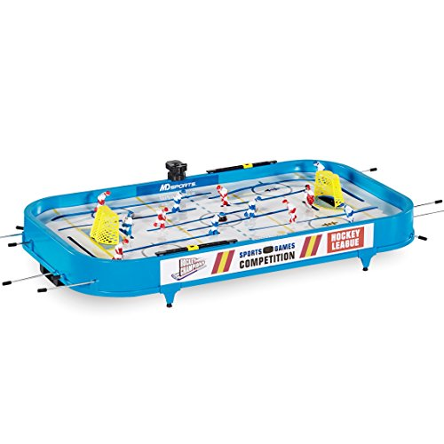 "Find Cheap MD Sports Rod Hockey Table Game, 36"", Lightweight Table Top - Stick Hockey with 2 Puck..."