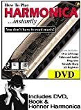 Hohner How To Play Harmonica... instantly! DVD, Book and Hohner Harmonica