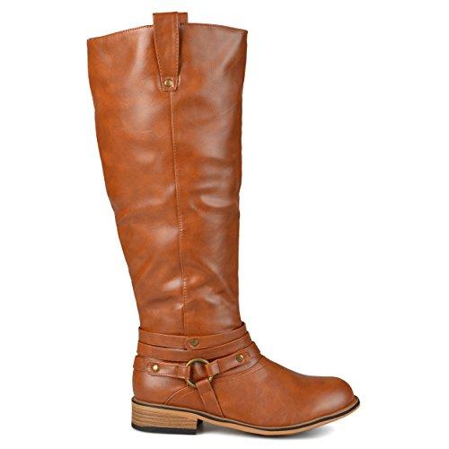 - Brinley Co Women's Bailey Riding Boot, Chestnut, 9 M US