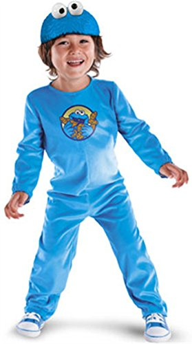 Sesam (Blue Monster Costumes Toddler)