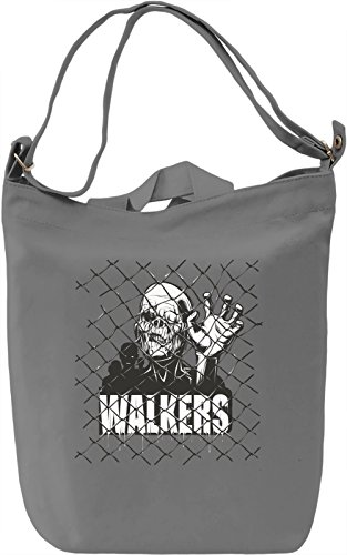 Walkers Borsa Giornaliera Canvas Canvas Day Bag| 100% Premium Cotton Canvas| DTG Printing|