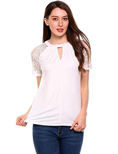 Meaneor Womens Sleeve T Shirt Blouse