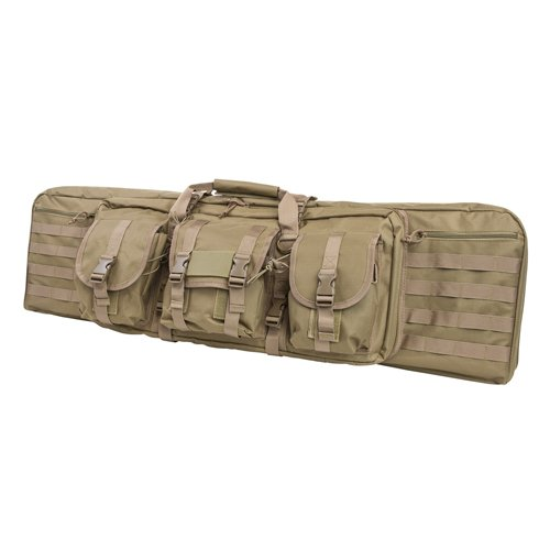 Nc Star Double Carbine Case, Brown/Tan, Large/42″
