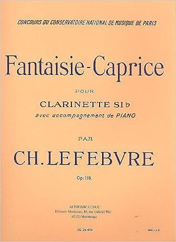 En ligne téléchargement gratuit FANTAISIE-CAPRICE OP118 CLARINETTE ET PIANO pdf, epub ebook