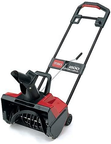 Toro 1800 18-Inch 12 Amp Electric Curve Snow Thrower 38025
