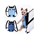Denim Pet Dog Backpack Outdoor Travel Dog Cat Carrier Bag for Small Dogs Puppy Kedi Carring Bags Pets Products Trasportino Cane,Apricot,S