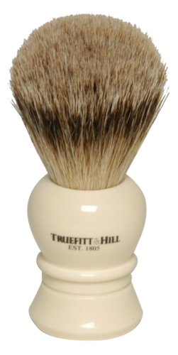 Truefitt & Hill Ivory Regency Super Badger Hair Shave Brush by Truefitt & Hill