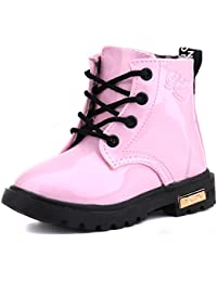 Kids Boys Girls Lace/Zip Up Ankle Boots
