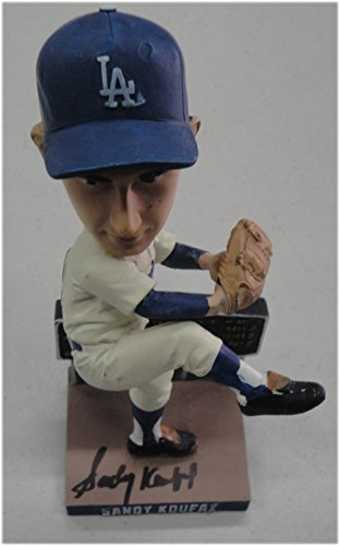 Sandy Koufax Hand Signed Autographed SGA Bobble Head 2015 LA Dodgers JSA Letter (Framed Signed Koufax Sandy)
