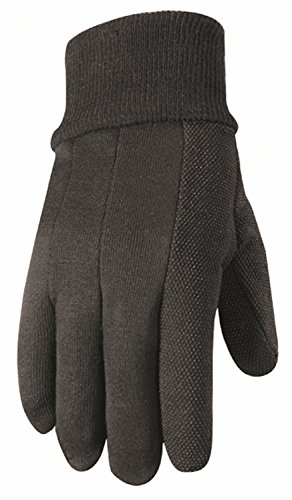 Dotted Jersey Glove - Wells Lamont Work Gloves, Hob Nob Jersey Basic, Extra Large (302XL)