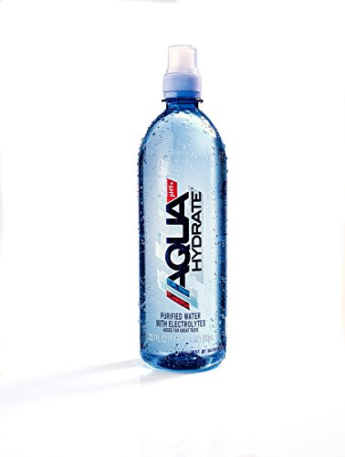 AQUAhydrate Electrolyte Enhanced Water Ph9+, 23.67  Fl. Oz (Pack of 12) by AQUAhydrate (Image #7)