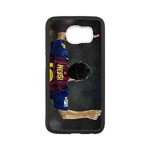 Sports lionel messi Samsung Galaxy S6 Cell Phone Case Black DIY Ornaments xxy002-9151256