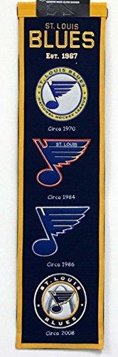 Winning Streak NHL St. Louis Blues Heritage Banner