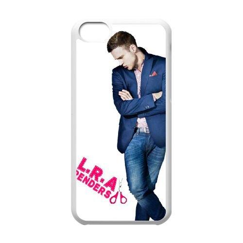 W7D55 Olly Murs V3W2BT cas d'coque iPhone de téléphone cellulaire 5c couvercle coque blanche XC7FVO8QN