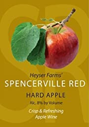 NV Great Shoals Spencerville Red Hard Apple Wine Maryland 750 mL