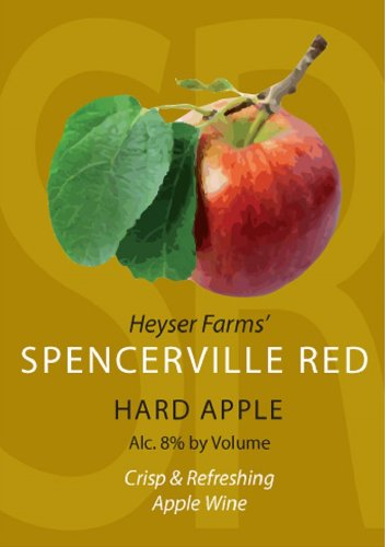 Heyser Farms Spencerville Red Hard Apple