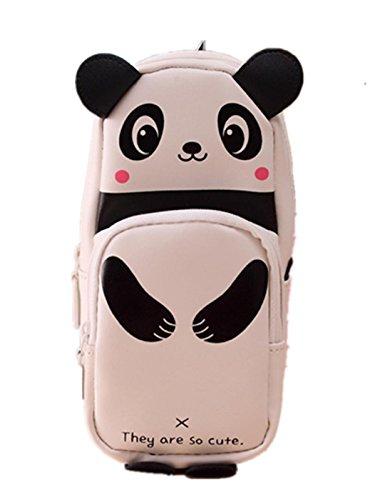 Womens Box School (Hot Sale! Sagton Cute Kawaii 3D Panda Pencil Case Pen Bags Stationery Bag Large Capacity School Supplies For Kids)