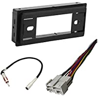CAR STEREO RADIO CD PLAYER RECEIVER INSTALL MOUNT KIT HARNESS RADIO ANTENNA BUICK CHEVROLET GMC OLDSMOBILE PONTIAC SATURN 1980 - 2000