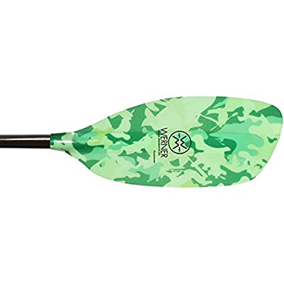 Powerhouse Bent Shaft Paddle: 191 cm - Rave Green
