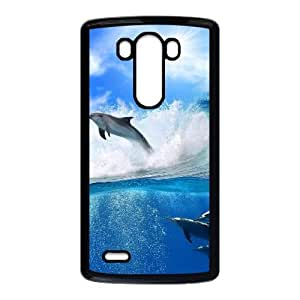Dolphin LG G3 Cell Phone Case Black JT385814791K