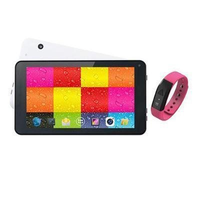 Supersonic SC6207FITPK 7'' Whit Tablet and Pink Fit band by Supersonic