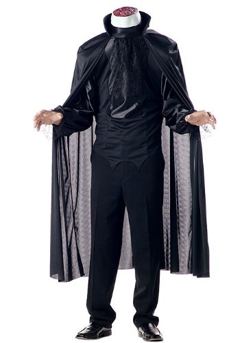 [California Costumes Men's Headless Horseman Costume, Black, Small] (Headless Horseman Adult Costumes)