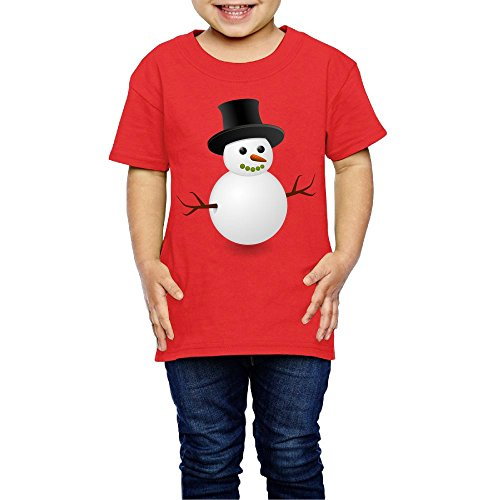 Snowman Kids Beautiful Girl Shirt Casual t Shirt