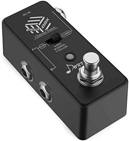 Donner ABY Box Line Selector Mini Guitar Effect Pedal True Bypass