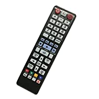 Replacement Remote Controller fit for BD-HM57C BD-F5100 BD-H6500/ZA BD-F5100/ZX Samsung DVD Blu-Ray Player