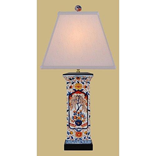 East Enterprises LPBKL1014S Amorial Vase Table Lamp – Multicolored For Sale