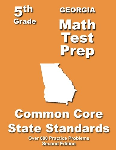 Georgia 5th Grade Math Test Prep: Common Core Learning Standards