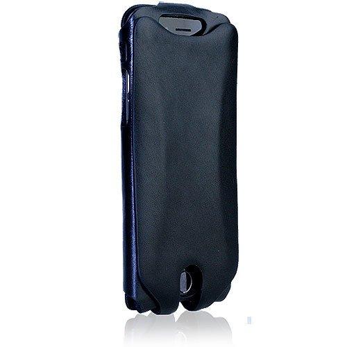 Amazon.com  Orbino Black Tuscan Pantera Sei Leather Case for Apple ... f9b4cdaaf008