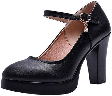 Women Mary Jane Pumps High Heel