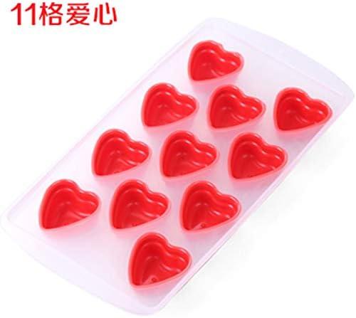 Cute Cake Decor Chocolate Baking Ice Mould Tool Fondant Heart Silicone Mold