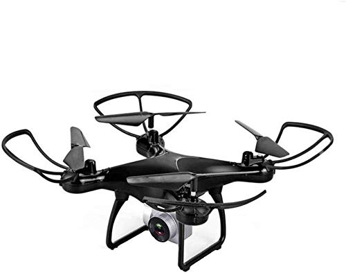 LIGUANGWEN Drone Drone,Faster Response, Higher Stability, More Stable Anti-Shake Imaging, Superior Intelligent Aerial Photography Aircraft,4-axis Aerial Remote Control Aircraft Drone (Color : Black)