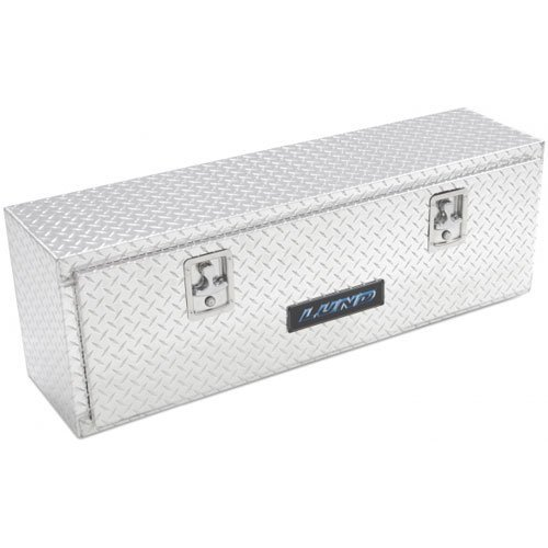 Lund 8160 60-Inch Aluminum Top Mount Truck Tool Box, Diamond Plated, Silver ()