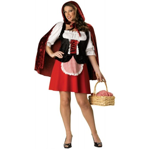 Little Red Riding Hood Adult Costume - Plus Size 3X