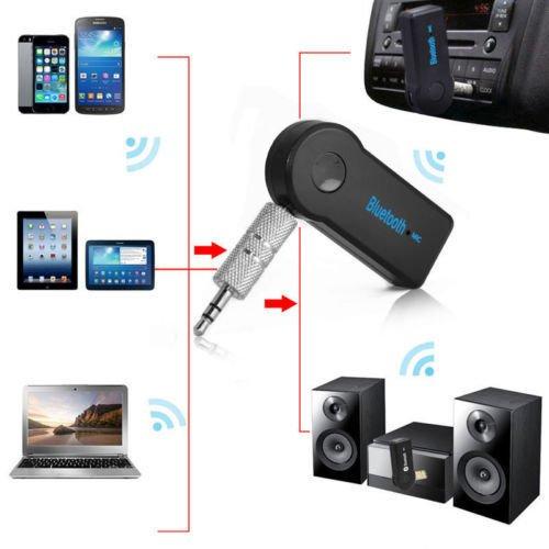 9 opinioni per K.O.W @ wireless bluetooth musica stereo audio 3,5mm AUX Auto per PC Mac Tablet