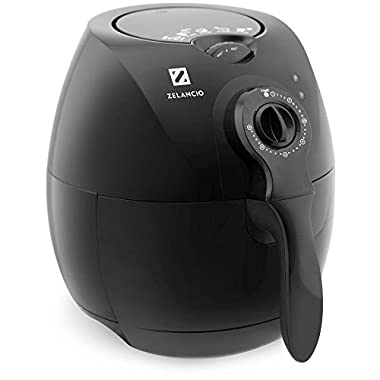 Zelancio Air Fryer with Rapid Air Technology. Deep Fry with No Oil. Healthy Multifunctional Cooker - Fry / Bake / Grill / Roast