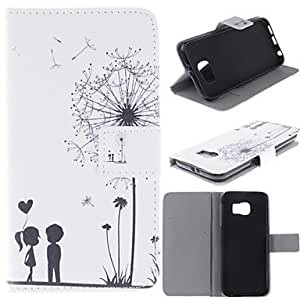 Teléfono Móvil Samsung - Carcasas de Cuerpo Completo Samsung Samsung Galaxy S6 Cuero PU )