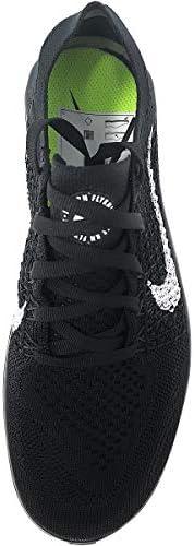 Nike Womens Free RN Flyknit 2018 Running Shoes (9.5 B(M) US) Black/White 3