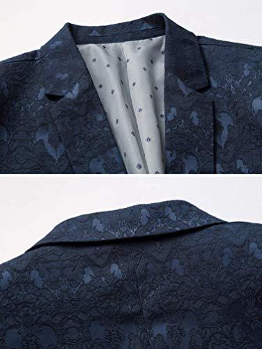 Leisure Uomo Cappotto Tuxedo Con Ragazzi Retrò Blazer Capispalla Giacca Stile Marine Da Moda Chic Fessure Classiche qR7Btw