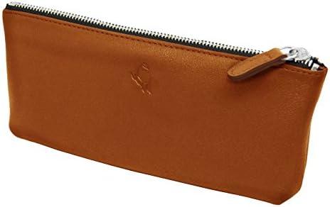 PA – 1111 estuche plano Impuls, color coñac: Amazon.es: Oficina y papelería