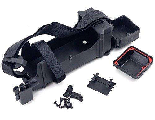 Arrma Typhon 6S BLX Updated Battery Tray Straps & Radio Box Set Kraton ()