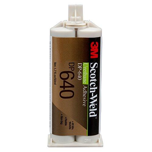 (3M Scotch-Weld 89544 Urethane Adhesive DP640, 400 mL, Duo-Pak, Brown, 13.53 fl. oz.)