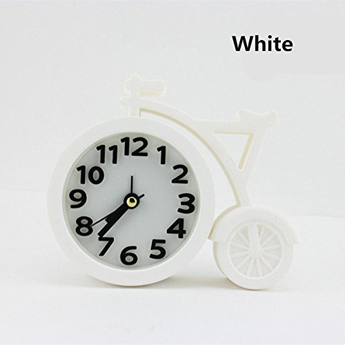 MAZIMARK--New Design Cute Bicycle Alarm Clocks for Kids Living Room Camping Traveling by MAZIMARK
