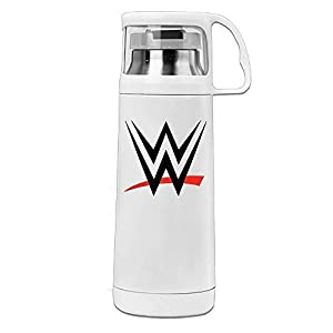 MIOPAIGE Professional Wrestling Program Sport Water Bottle With Handle Vacuum Cup