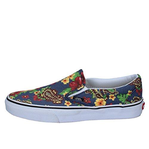Slip on Tela Sneakers VANS Blu Fashion Uomo B0wndU