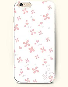 OOFIT Apple iPhone 6 Case 4.7 Inches - Windmill-shaped Flowers