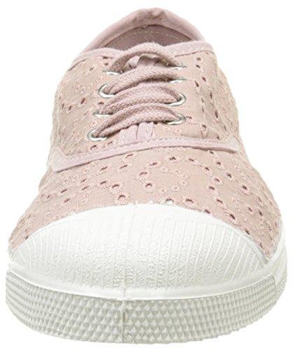 Bensimon Tennis Broderie Anglaise - Zapatillas de deporte Mujer Rosa - Rose (437 Vieux Rose)
